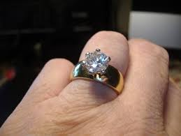 engagement rings size 8 free gorgeous 2ct solitaire wide band wedding engagement ring