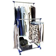 Galvanized Pipe Clothes Rack Silvertone Butterfly Sweater Or Shawl Clip Jewelry Heavy Duty