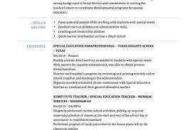 Special Education Teacher Job Description Resume by Qualifications Resume Substitute Teacher Resume Points Substitute