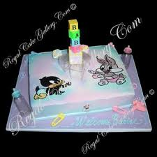 looney tunes baby shower looney tunes bugs bunny daffy baby cake baby cake imagesbaby