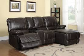 Sofa With Recliners Sofa Engaging Small Sectional Sofa With Recliner Cup