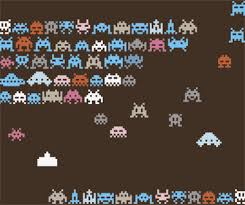 space wrapping paper space invaders wrapping paper fanboy
