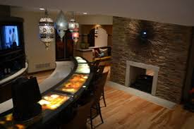 basement bar top ideas inexpensive bar top ideas lighted bar top is a unique way of