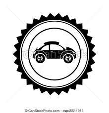 si e auto sport auto sport siegel monochrom kreisförmig seitenansicht