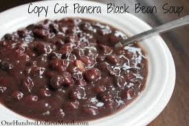 copy cat panera black bean soup one hundred dollars a month