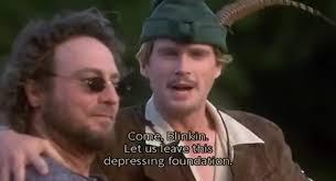 Men In Tights Meme - yarn come blinkin robin hood men in tights 1993 video