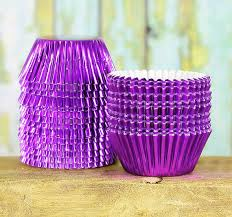 foil candy cups mini purple foil cupcake liners purple foil candy cups mini