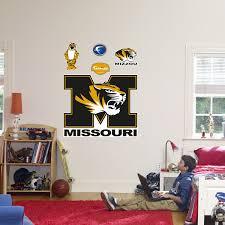 Mizzou Home Decor Fathead Missouri Tigers Logo Wall Decal Kohls Wall Decals Quotes