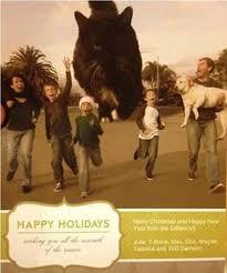 22 funny family christmas card ideas neatorama from catzilla to