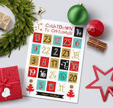 printable advent calendar diy advent calendar christmas