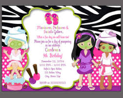makeup candle set cake toppers spa party slumber party