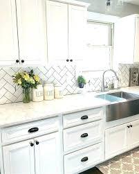 white kitchen white backsplash white subway tile backsplash kitchen bolin roofing