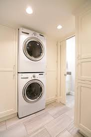 Washer Dryer Enclosure Interior Design Exciting Wall Storage Design With Stackable