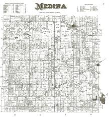 Map Of Medina Ohio by Medina Township Lenawee County Michigan 1893 Plat Map