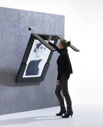 Folding Table Attached To Wall Ivydesign Picture Table In The Color Of Your Choice
