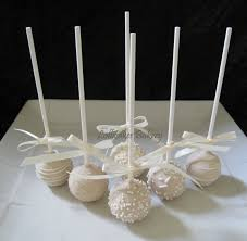 wedding cake pops wedding favors wedding cake pops made to order with high