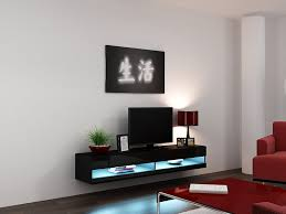 Living Room Furniture Tv Cabinet Vigo 180 Led Wall Mounted Floating Tv Stands Fits 80
