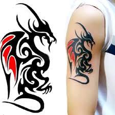tattoo decal paper buy waterproof temporary tattoo sticker of body 10 5 6cm cool man dragon