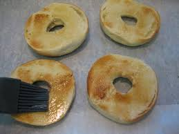 Bagel Setting On Toaster Bagel U0027pizzas U0027 With Caramelized Onions Roasted Potatoes U0026 Herbs