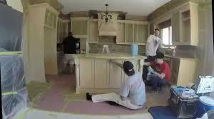 Youtube Painting Kitchen Cabinets Kitchen Cabinet Refinishing Toronto Paint Core Youtube
