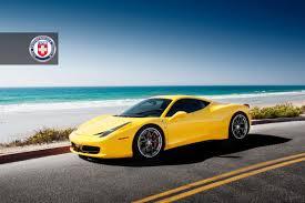 Ferrari 458 Yellow - ferrari 458 italia with hre s101 in satin charcoal hre
