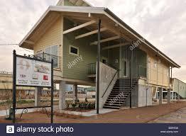 katrina house new house in lower 9th ward after hurricane katrina flood new stock
