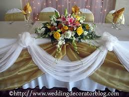 how to use tulle to decorate a table wedding head table idea you could do this with burlap and tulle