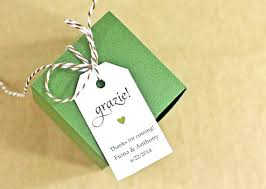 bridal shower favor tags wedding party favor tags let grow succulent favor tags