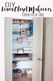 diy linen closet makeover southern revivals