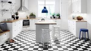 carrelage cuisine damier noir et blanc maclou carrelage fabulous efficace sol vinyle imitation