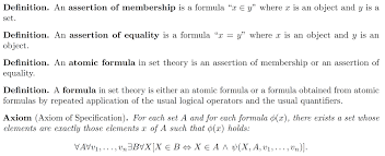 set theory in zfc which axioms of set are not required to class