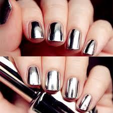2 bottles set 15ml born pretty mirror effect nail polish u0026 15ml