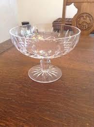 Vintage Waterford Irish Crystal Lismore Bowl By Birneycreek Vintage Waterford Crystal Lismore 1957 Scalloped Edge Flared