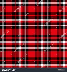 seamless tartan pattern checkered red texture stock vector