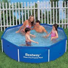 buy bestway 8ft octagon frame pool from our toys for 5 8 years
