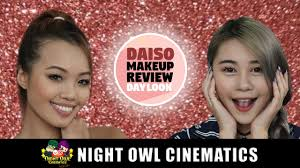 Owl Halloween Makeup by Best Daiso Makeup For Day Look Youtube