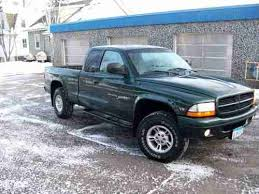 2000 dodge dakota cab for sale sell used 2000 green dodge dakota sport cab truck v8