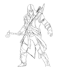 assassin u0027s creed 6 video games u2013 printable coloring pages