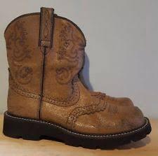 womens brown cowboy boots size 11 cowboy s size 11 ebay