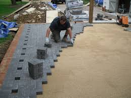 Average Cost Of Paver Patio by Paving A Garden Cost Thesouvlakihouse Com