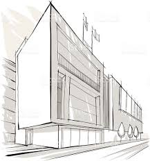 architecture building sketch stock vector art 157833881 istock