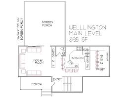Two Level Floor Plans 1000 Square Foot Floor Plan 2 Bedroom 2 Bath Architect Design