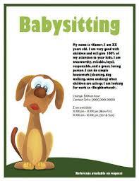 dog sitting flyer template yourweek e0f002eca25e