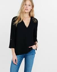 Black Blouses For Work Blouses Shop Women U0027s Blouses