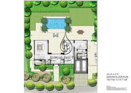 the nest villas 4 bedroom type a2 l ground floor plan