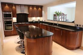 wooden kitchen furniture outstanding black and wood kitchens that will add style to your home