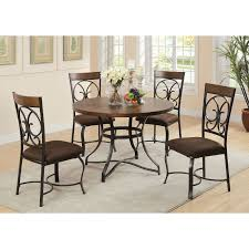 acme furniture kiele 5 piece square counter height dining table
