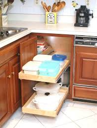 Kitchen Cabinet Slide Out Shelves Pull Out Corner Cabinet Shelve Pull Out Shelves For Blind Corner