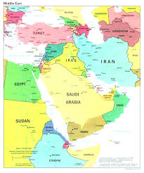 arab countries map arab states of the gulf and map countries