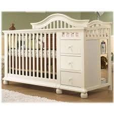 White Crib And Changing Table Sorelle Cape Cod Crib And Changer White